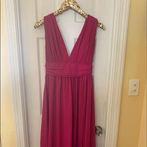 Lulu's full length, v neck dress